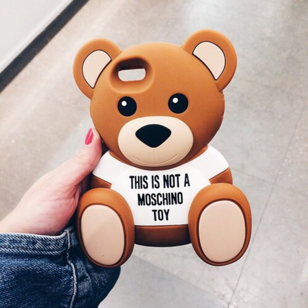 Teddy Bear Moschino Phone Case