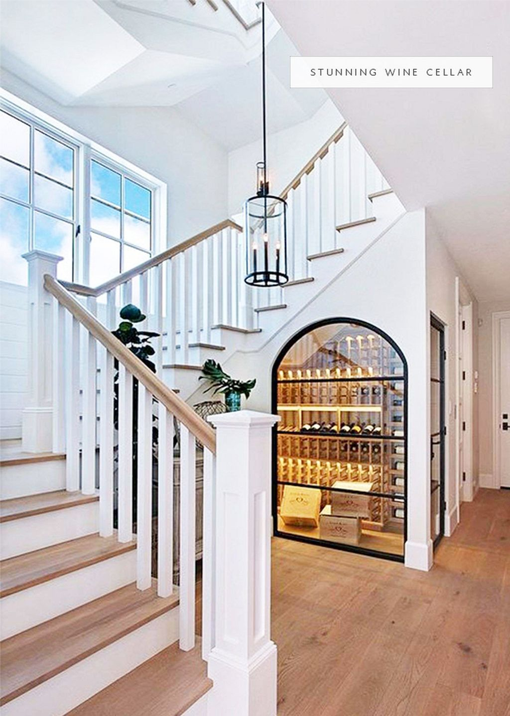 Most Creative Under The Stairs Home Designs - Wine cellar storage under the stairs