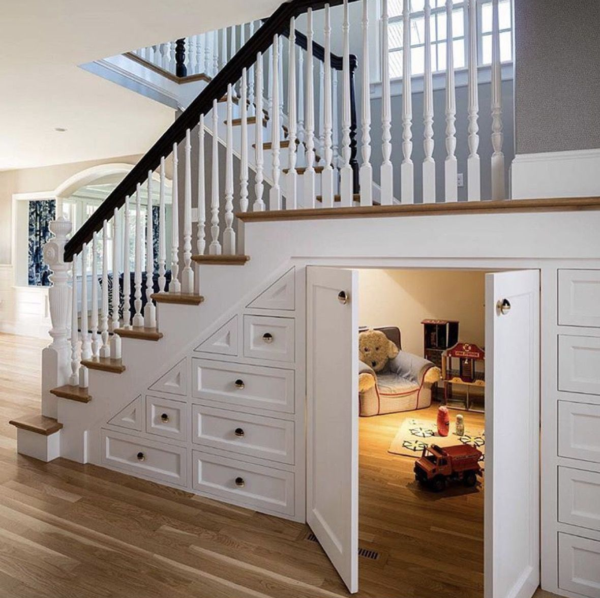 Most Creative Under The Stairs Home Designs - Hidden kids playroom under the stairs