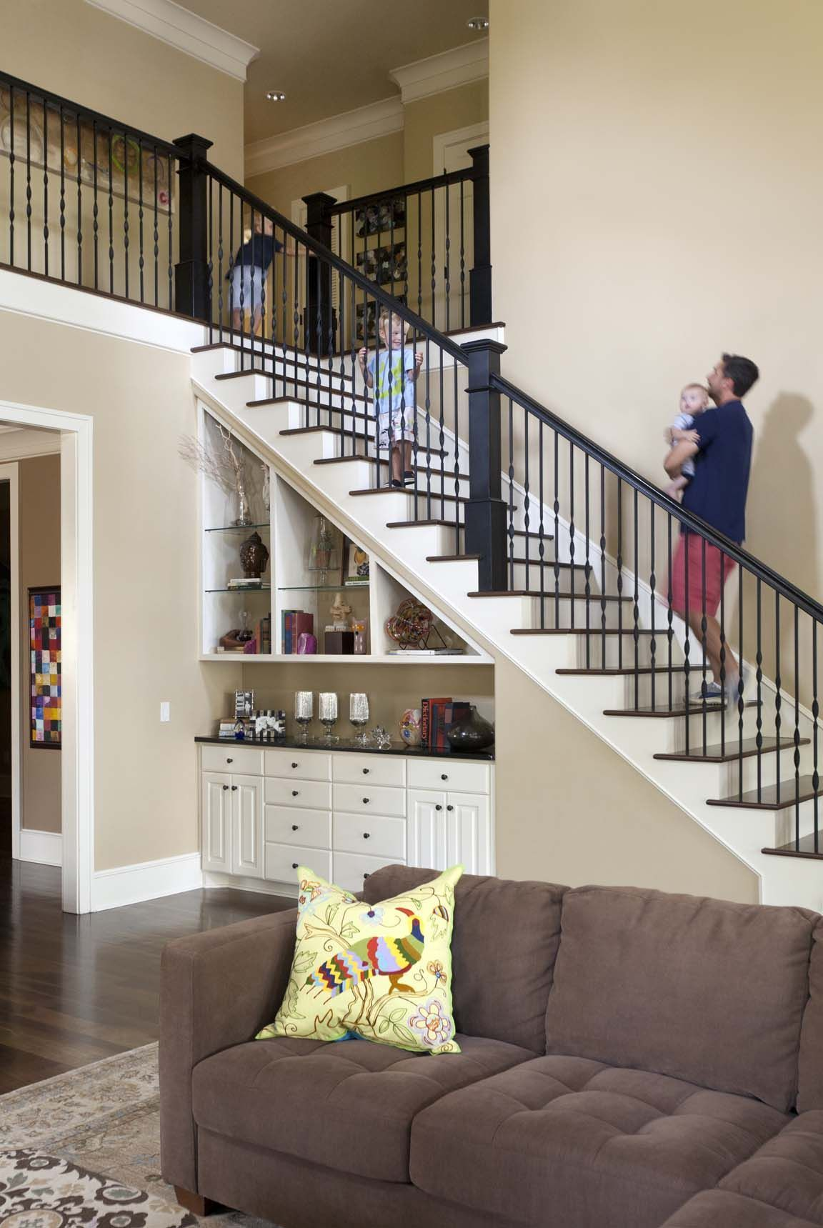 Most Creative Under The Stairs Home Designs - Modern storage under the stairs
