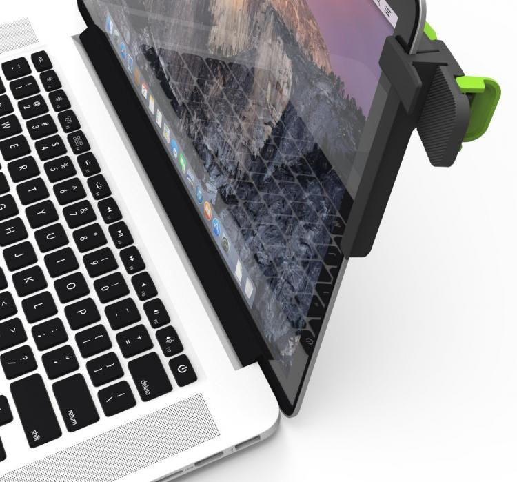 Mountie Second Monitor Mount - Mount Tablet or Smartphone as second monitor