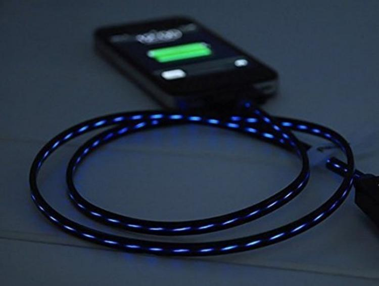 Animated LED Charging Cable - Moving LED Phone Charger