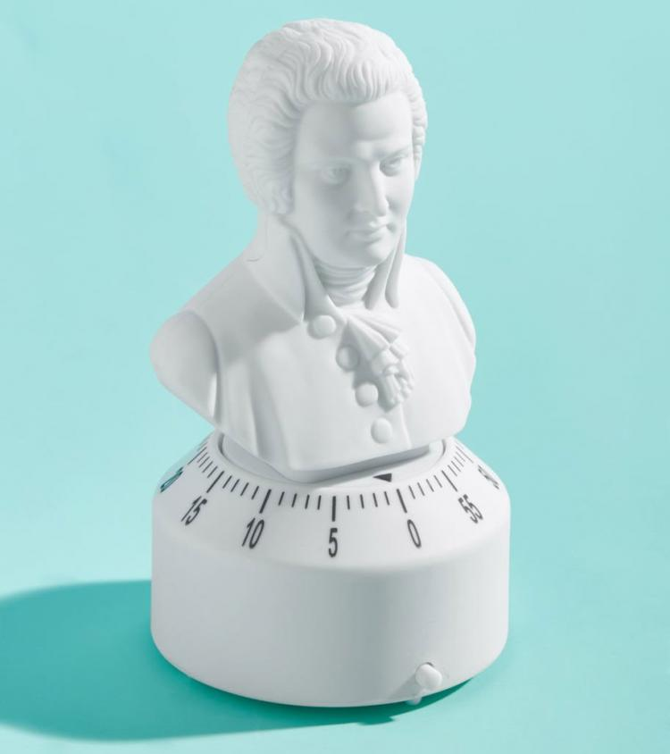 Mozart Kitchen Timer Plays Turkish March When Time's Up - Classical Music Kitchen Timer