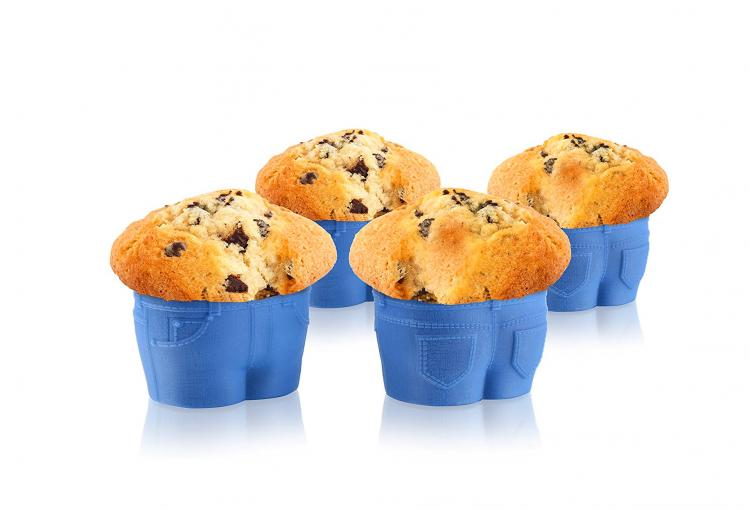 Muffin Top Jeans Muffin Molds - Chubby jeans muffin maker