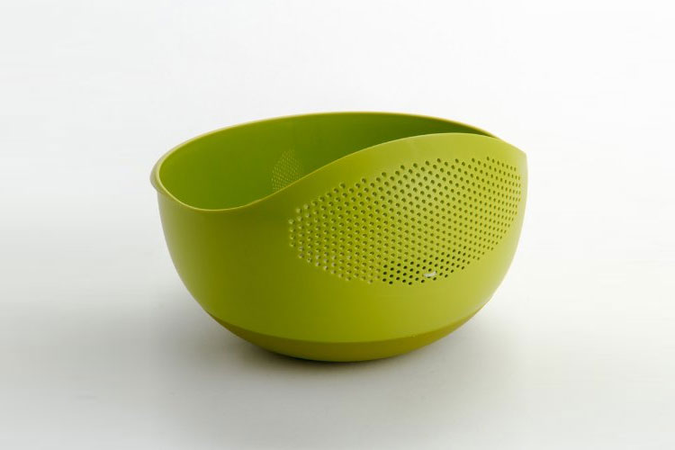 Prep and Serve Bowl with Integrated Colander