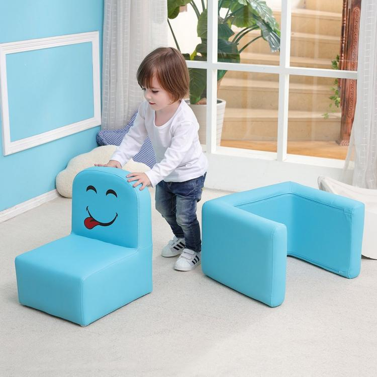 Multi-functional Kids Arm-chair Turns Into a Desk - 3-in-1 toddler arm-chair desk combo