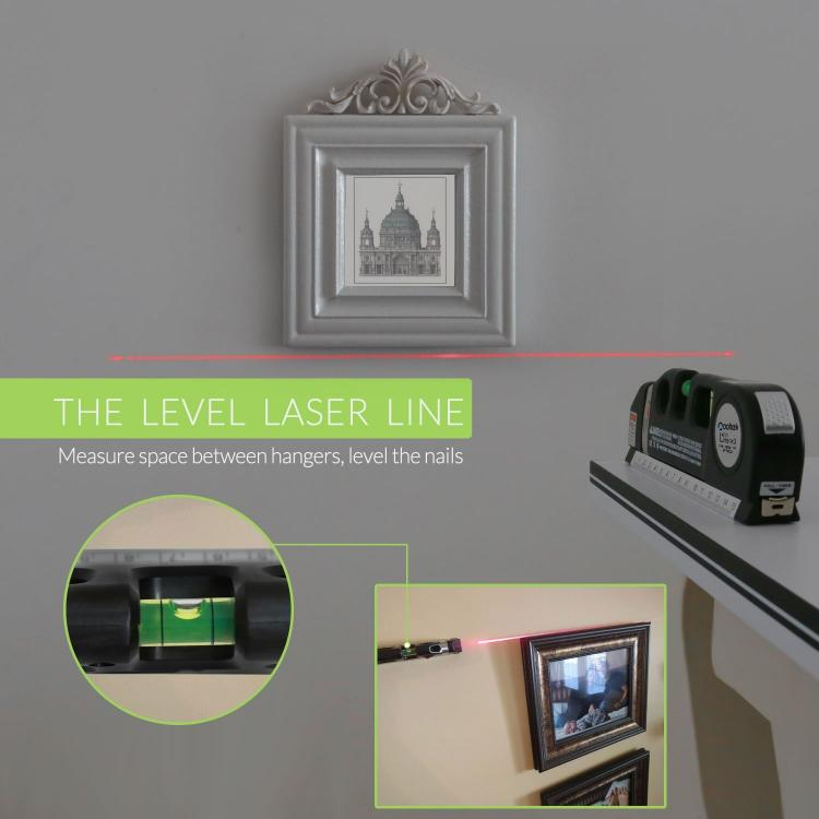 Lower Level Multi Purpose: Multi-Purpose Laser Level And Tape Measure
