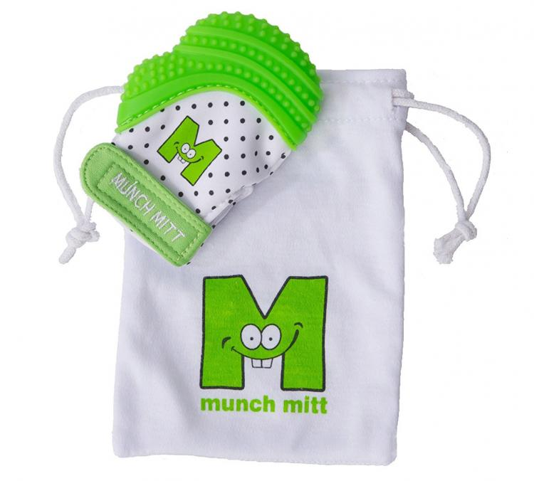 Munch Mitt Baby Teething Mitten - Baby Teething Glove