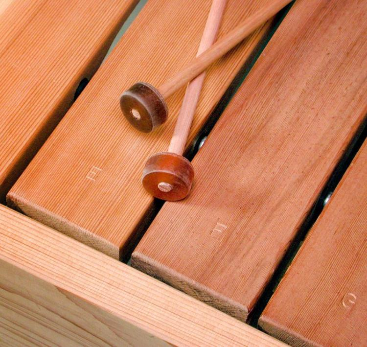 Musical Porch Swing Functions as a Xylophone - Musical toy box - Xylophone furniture