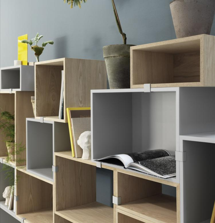 Muuto Modular Stackable Shelving