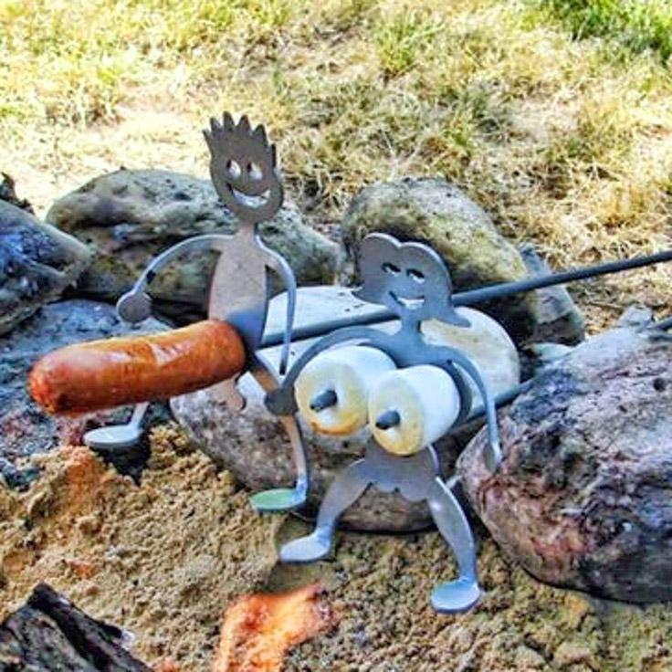 Navy Marshmallow and Hot Dog Roasting version hotdog cooker funny