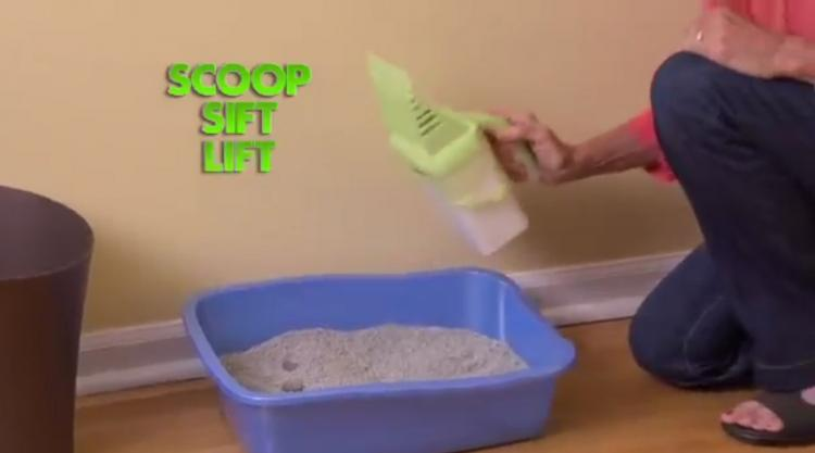 Neater Scooper - Easiest kitty litter cleaner - Best cat poop scooper