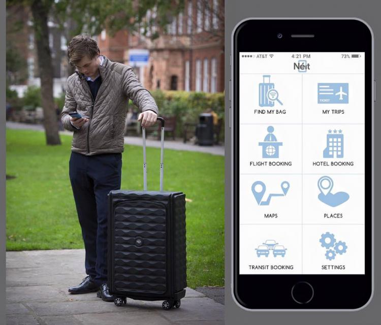 Neit Smart Luggage - Hard Shell Collapsible Luggage