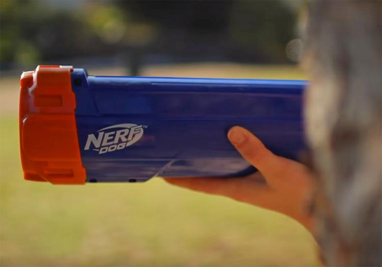 Nerf Dog Ball Launcher