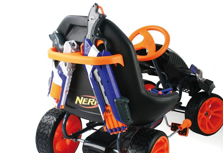 Nerf Ride-On Battle Racer Kids Toy Car - Nerf Pedal Car