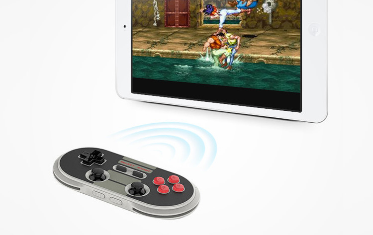 NES30 Modernized Nintendo Bluetooth Game Controller