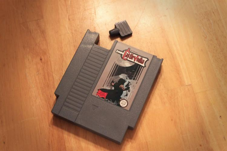 Castle Vodka NES Cartridge Flask