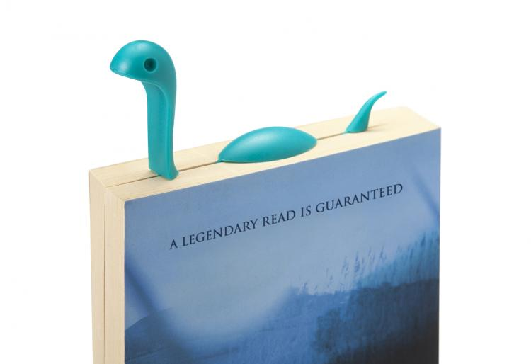 Nessie Tail Bookmark - Nessie The Loch Ness Monster Bookmark