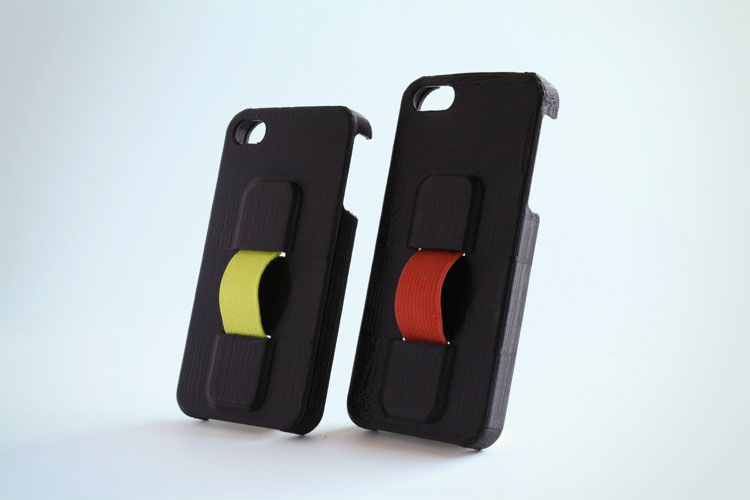 Neverdrop iPhone Case With Finger Strap