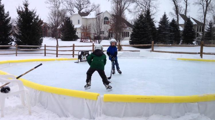 Backyard Ice Rink Kit : NiceRink Backyard Ice Rink Kit