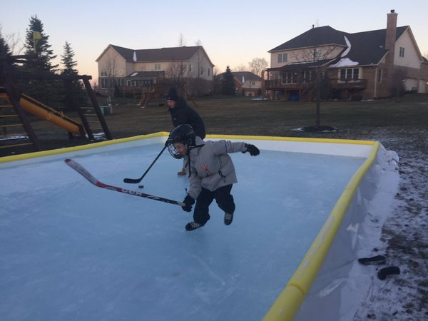 Backyard Rink Kit : NiceRink Backyard Ice Rink Kit