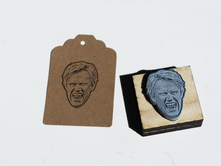 Gary Busey Face Stamp