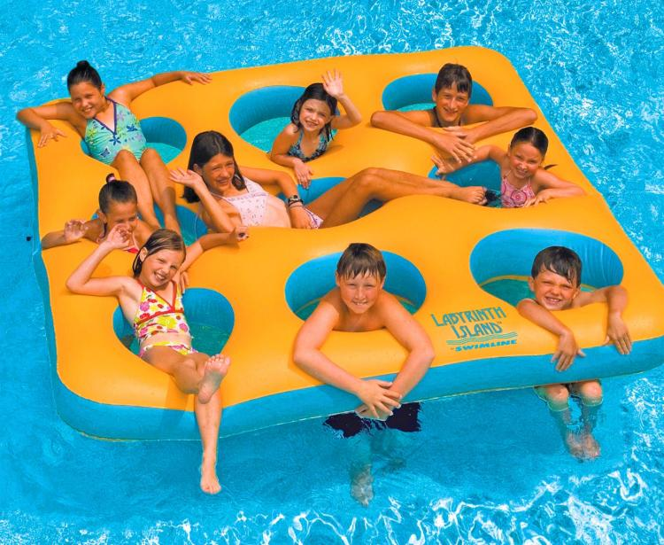 Nine Person Pool Float