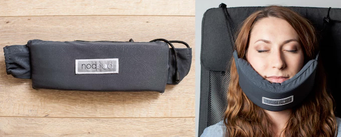 NodPod Travel Face Hammock - Head Hammock Headrest Attachment