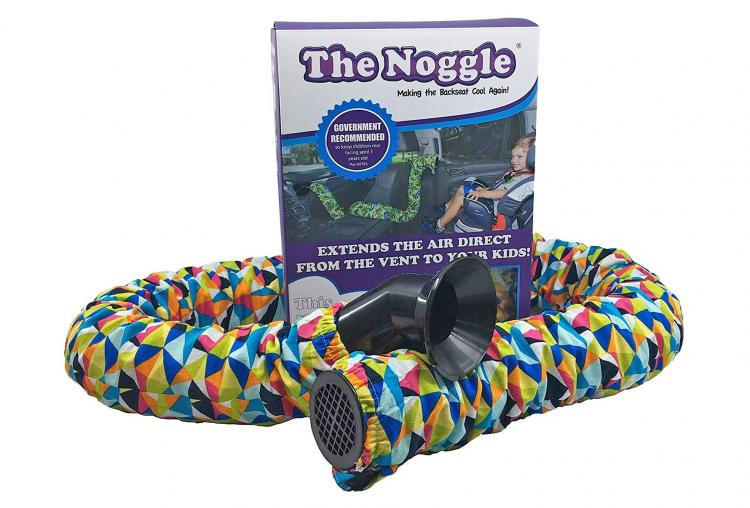 The Noggle Extendable Car Vent Tube Keeps Kids In Car seats Cool on Hot Days