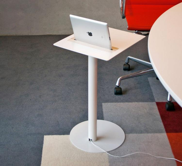 Nomad tablet and iPad table dock