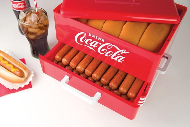 Nostalgia Hot Dog Steamer