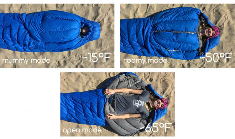 NoZipp - Magnetic Sleeping Bag - Uses Magnets Instead Of a Zipper