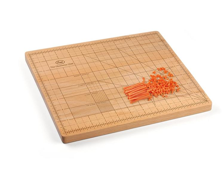 OCD Cutting Board - Obsessive Chef Cutting Board - Cutting Board with grids for precise cuts