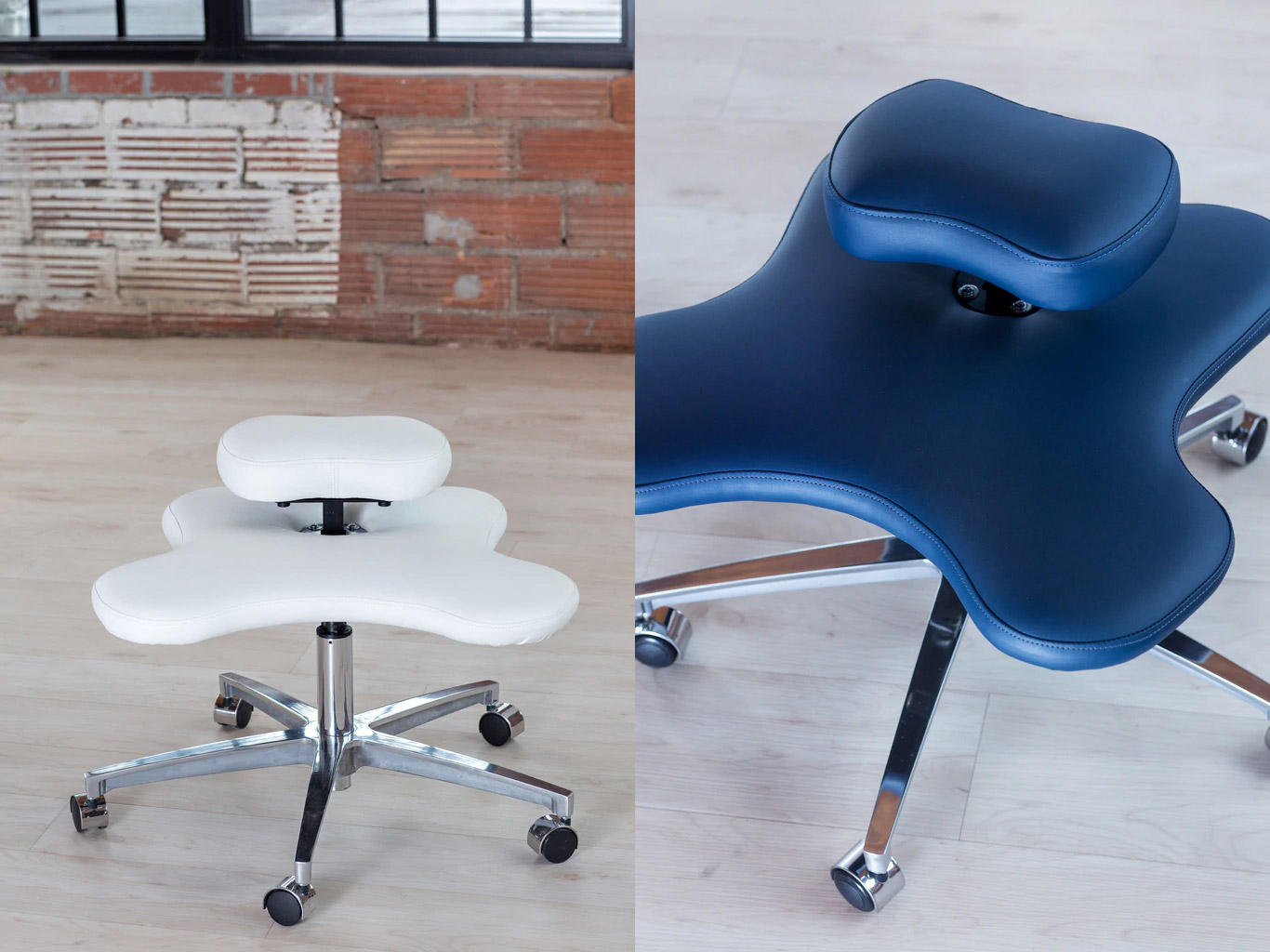 Office Chair That Lets You Sit Cross-Legged - Soul Seat Yoga Office Chair sit in any position