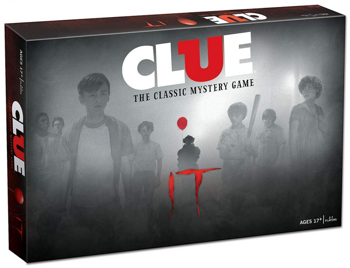 IT Movie Clue Board Game - Clue IT Movie Edition