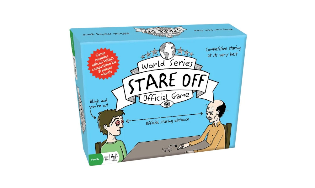 Official Staring Contest Game - Stare-off board game