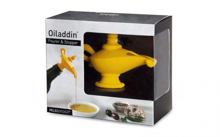 Oiladdin - Aladdin Genie Lamp Oil Pourer and Stopper