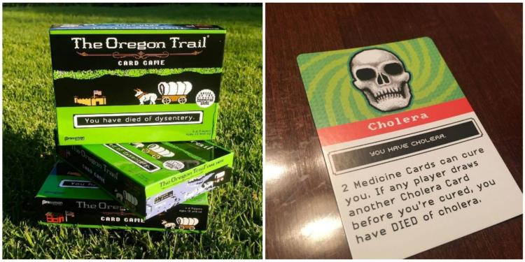 Oregon Trail Card Game - Oregon Trail Party Board Game