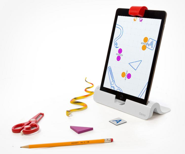 OSMO Interactive iPad Game Played Outside The Screen