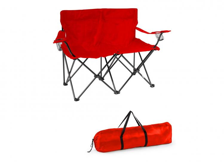 Outdoor Folding Love Seat Lawn-chair