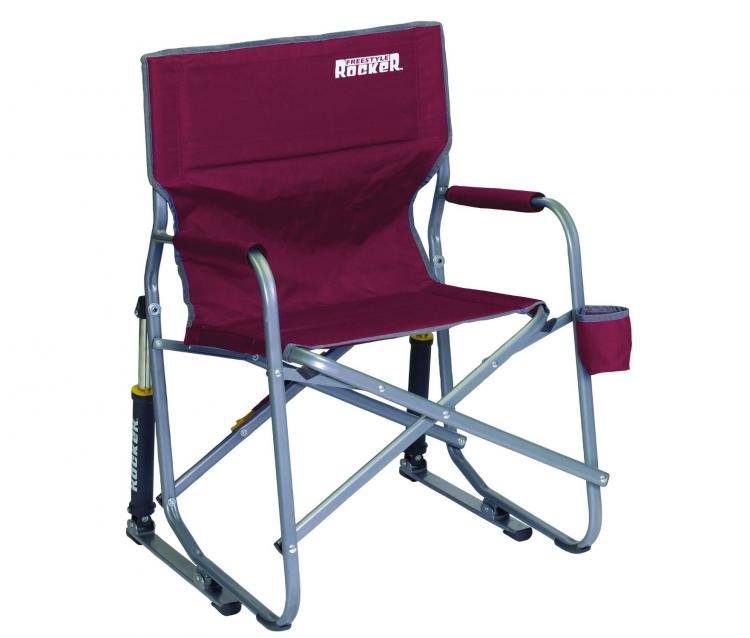 GCI Outdoor Folding Rocking Chair - Spring Action Folding Rocking Chair