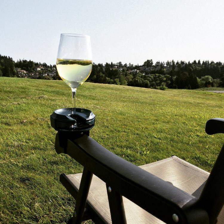Outdoor Wine Holder Ideas