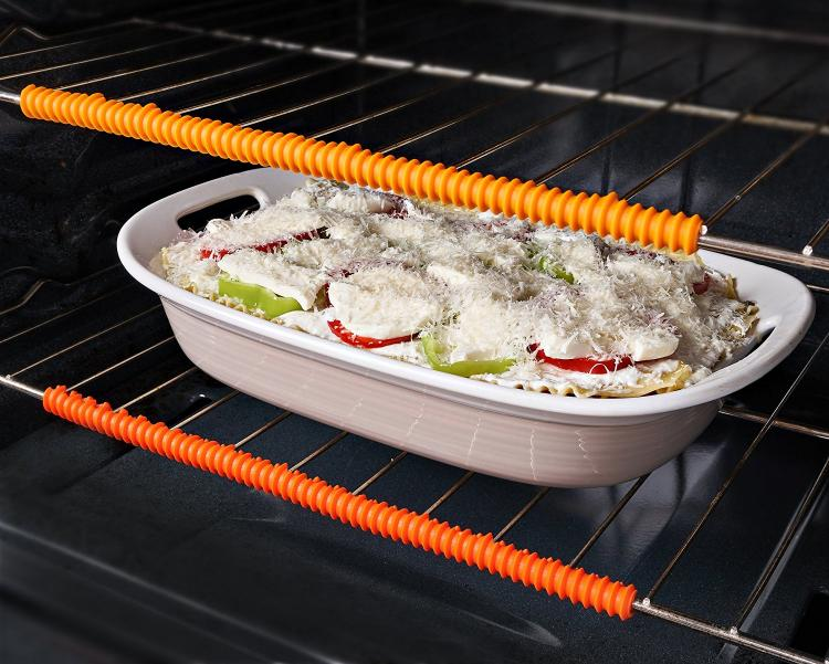 Silicone Oven Rack Guards - Prevent Burns While Grabbing Things Out Of The Oven