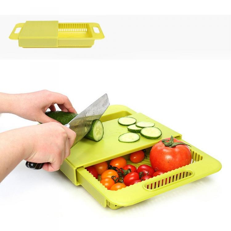 3 In 1 Over The Sink Cutting Board   Cutting Board, Colander,