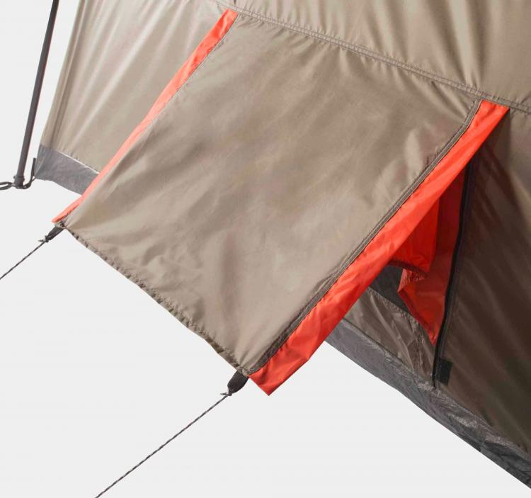 Ozark Trail 3-Room Camping Tent - 12 person multi-room giant camping tent - Tent with air-conditioner