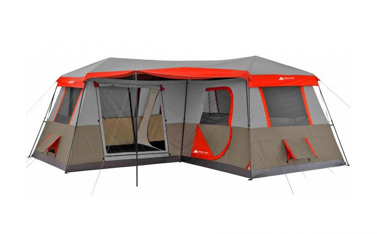 Ozark Trail 3-Room Camping Tent - 12 person multi-room giant camping tent