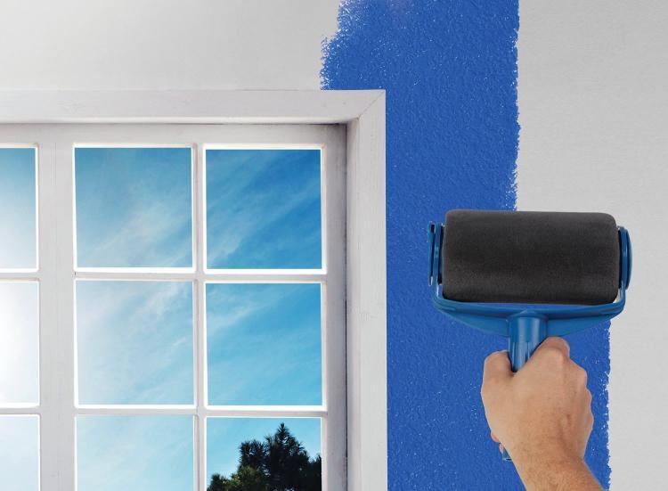 Renovator Paint Runner Pro - Paint Roller That Holds Paint - Never ending paint roller