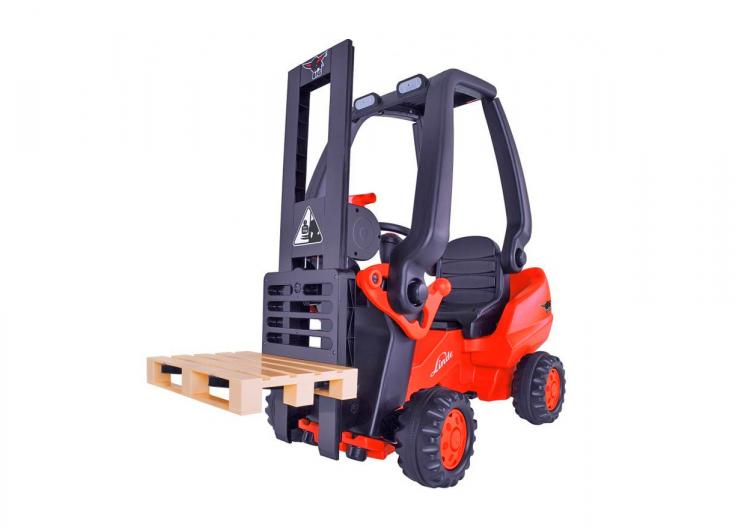 Kids Pedal Powered Forklift - Childrens Toy Forklift - Functioning toy forklift actually lets you pick stuff up