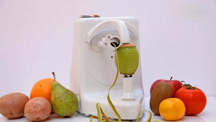 Pelamatic Orange Peeler Pro - Peelamatic automatic fruit and vegetable peeler
