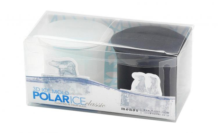 Arctic Ice Molds Show Polar Bears and Penguins Walking On Glaciers - Polar bear and penguins ice cube molds